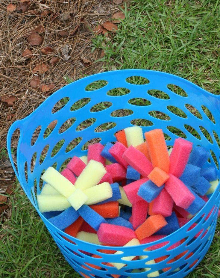 Backyard Water Park Party Ideas  Best 25 Backyard water parks ideas on Pinterest
