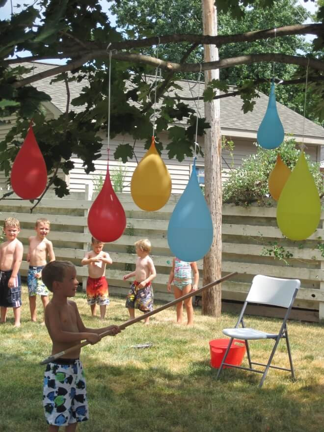 Backyard Water Park Party Ideas  21 Fun June Birthday Party Ideas for Boys and Girls too