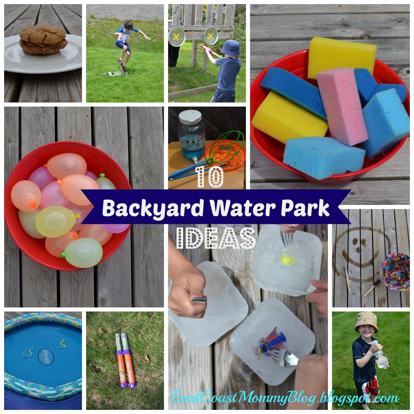 Backyard Water Park Party Ideas  East Coast Mommy 10 Easy DIY Backyard Water Park Ideas