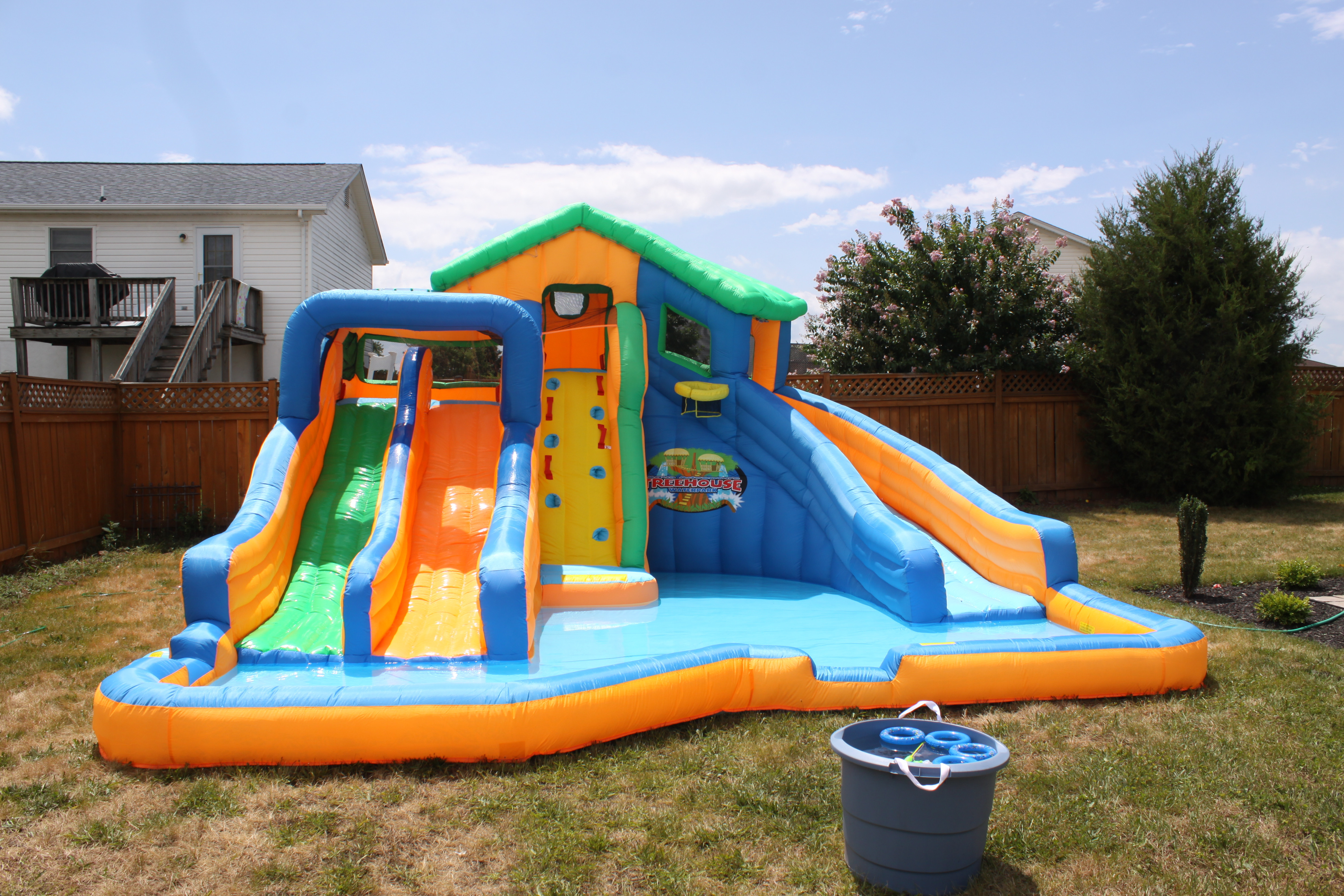 Backyard Water Park Party Ideas  Backyard Theme Parties Outdoor Party Ideas for Kids