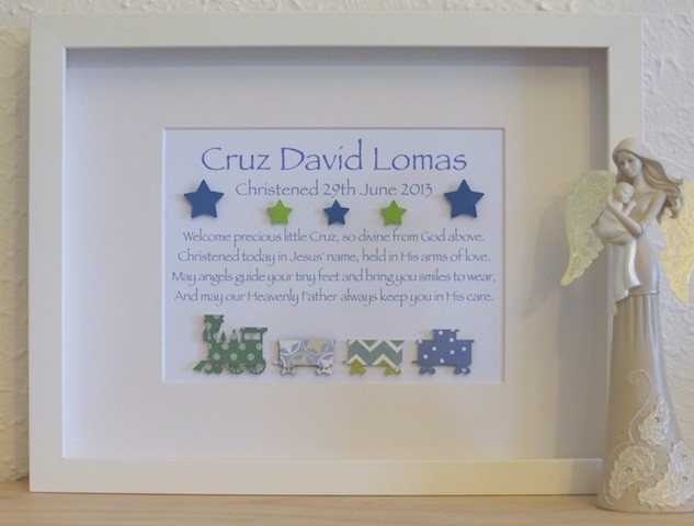 Baptism Gift Ideas For Baby Girl  Classic Baby Boys Unique Christening Baptism Poem Gifts