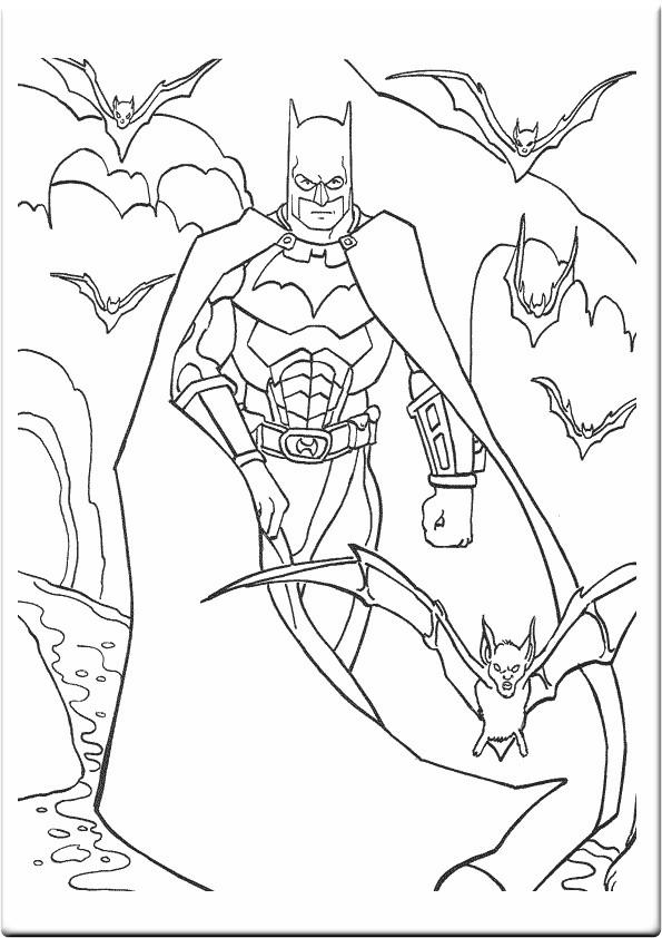 Batmobile Coloring Pages  Batman Coloring Pages
