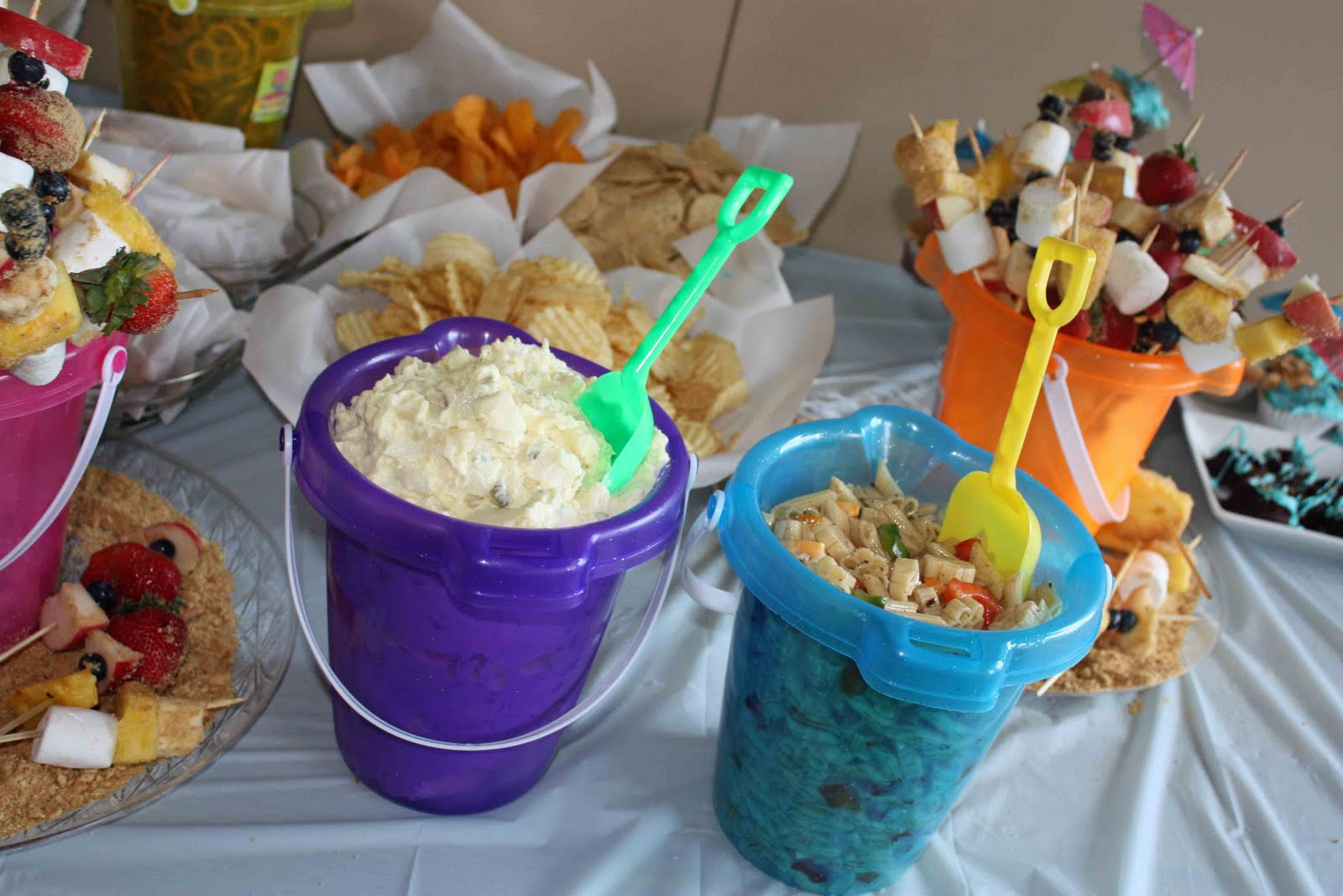 Beach Party Food Ideas Kids  Gourmet Mom on the Go Panini Beach Party & Giveaway