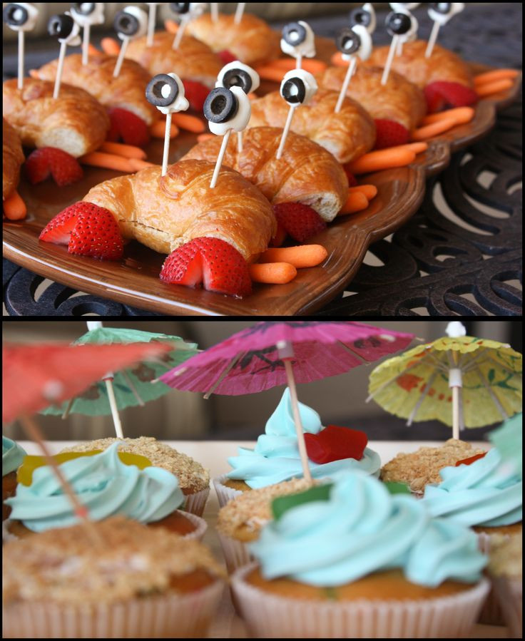Beach Party Food Ideas Kids  17 Best images about Party Ideas on Pinterest