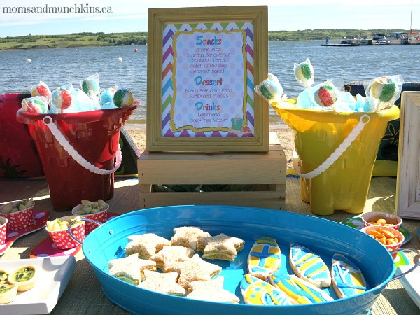 Beach Party Food Ideas Kids  Beach Birthday Party Ideas Moms & Munchkins