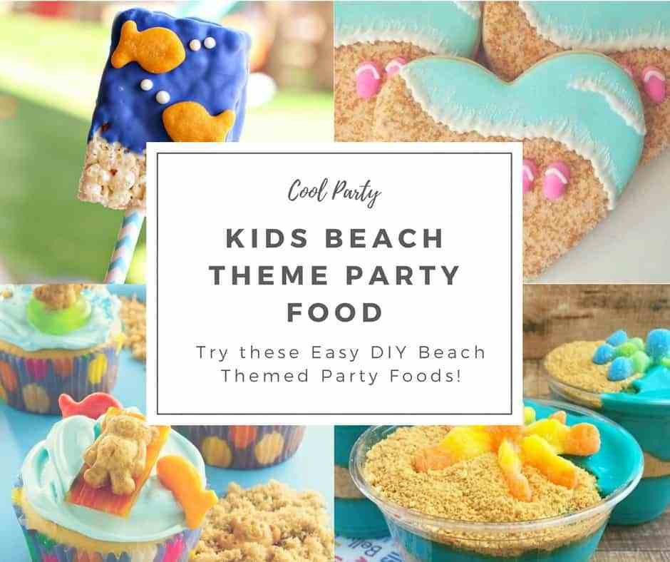 Beach Party Food Ideas Kids  Kids Beach Theme Party Ideas Hip Hoo Rae