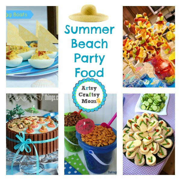 Beach Party Food Ideas Kids  25 Summer Beach Party Ideas