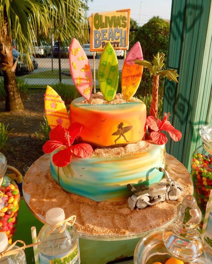 Beach Party Theme Ideas  Kara s Party Ideas Disney s Teen Beach Movie Themed