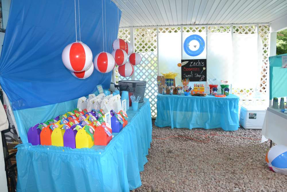 Beach Party Theme Ideas  The Beach Birthday Party Ideas 1 of 70