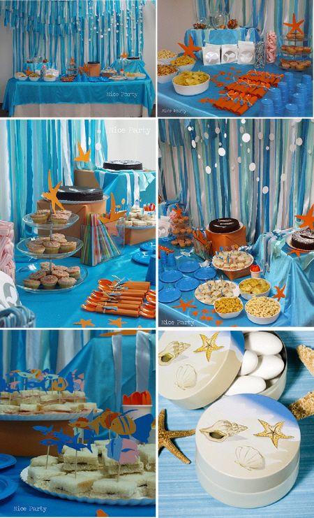 Beach Party Theme Ideas  beach themed kids birthday party