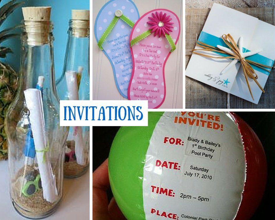 Beach Party Theme Ideas  Beach Party Ideas for Kids