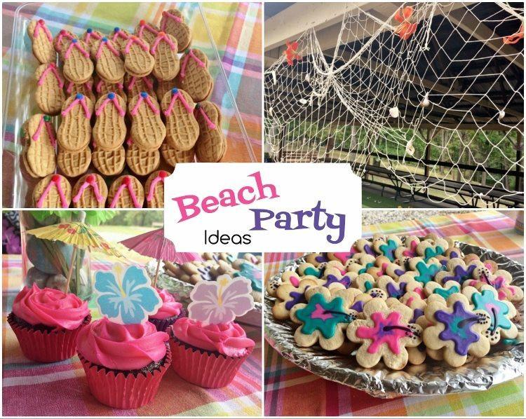 Beach Party Theme Ideas  Beach Party Birthday DIY Inspired