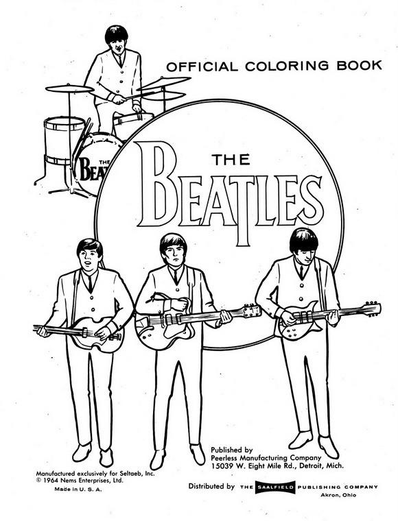 Beatles Coloring Book  Categoras relacionadas Beatles Instrumentos musicales