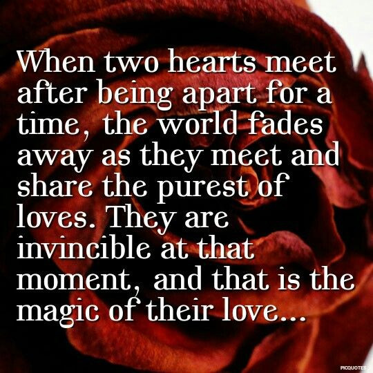 Beautiful Romantic Quotes  25 best Meet again quotes on Pinterest
