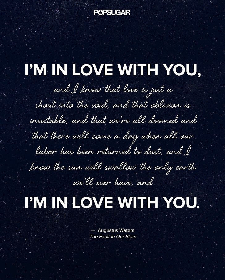 Beautiful Romantic Quotes  The Most Beautiful Quotes From The Fault in Our Stars