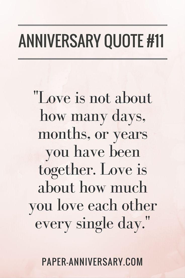Best Anniversary Quotes  Best 25 Anniversary quotes ideas on Pinterest