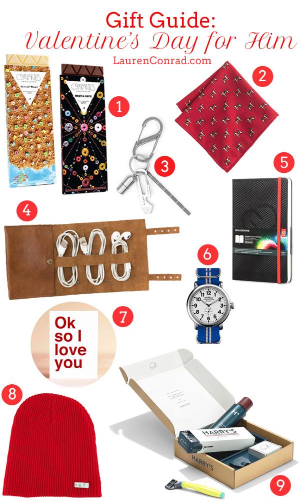Best Guy Valentines Day Gift Ideas  Gift Guide Valentine's Day Ideas for Him Lauren Conrad