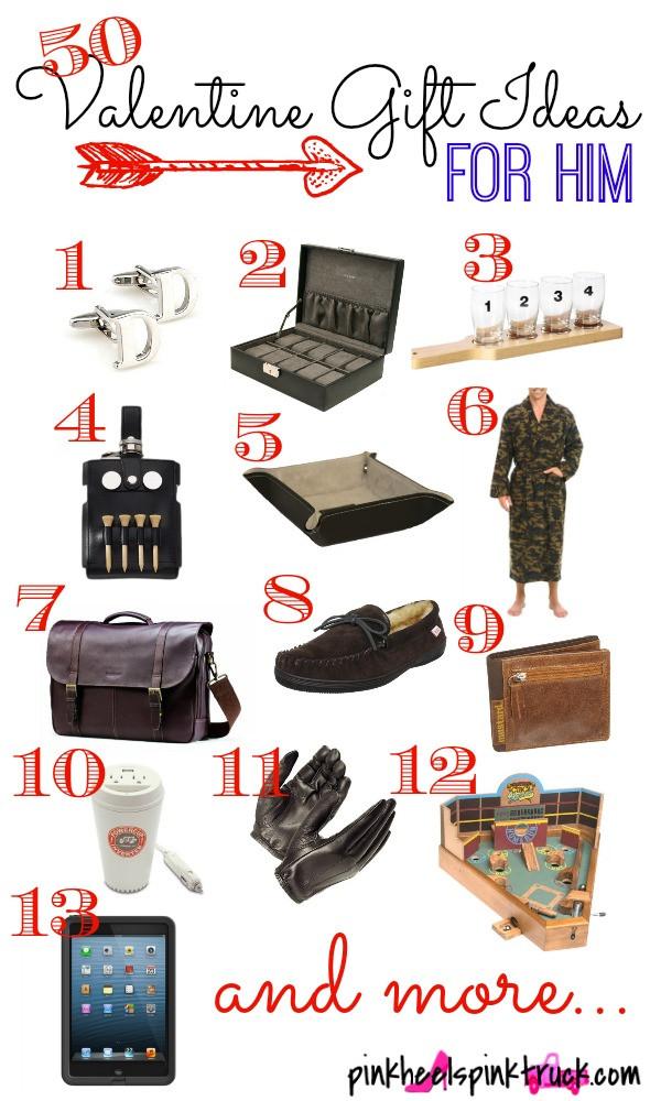 Best Guy Valentines Day Gift Ideas  50 Valentine Gift Ideas for Him • Taylor Bradford