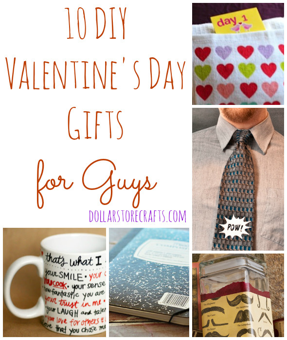 Best Guy Valentines Day Gift Ideas  10 DIY Valentine s Day Gifts for Guys Dollar Store Crafts