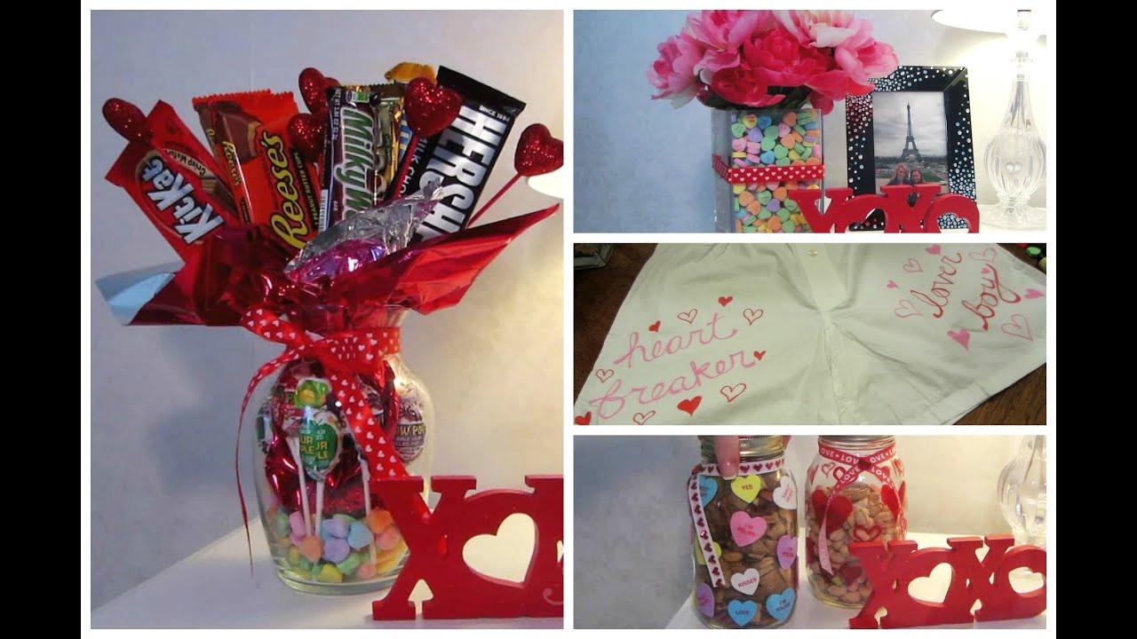 Best Guy Valentines Day Gift Ideas  Cute Valentine DIY Gift Ideas