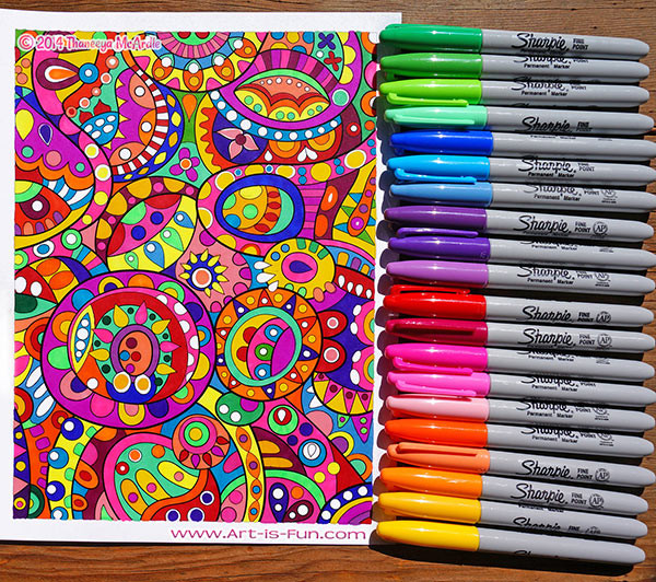 Best Pens For Coloring Books  Coloring Supplies The Best Markers Colored Pencils Gel
