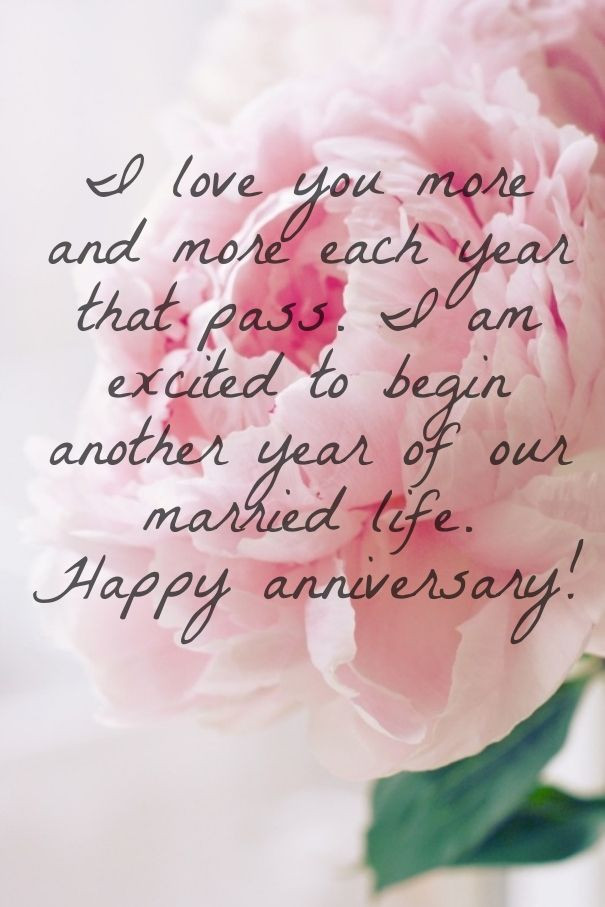 Best Wedding Anniversary Quotes  Happy anniversary wishes for husband with love