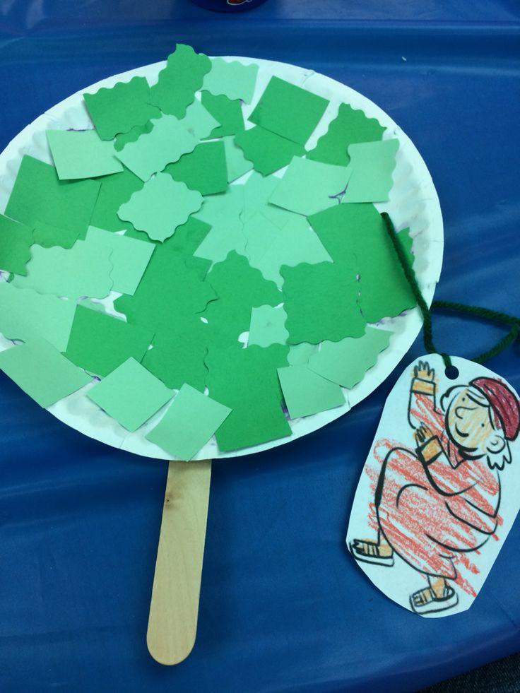 Bible Craft For Preschoolers  Best 25 Zacchaeus ideas on Pinterest