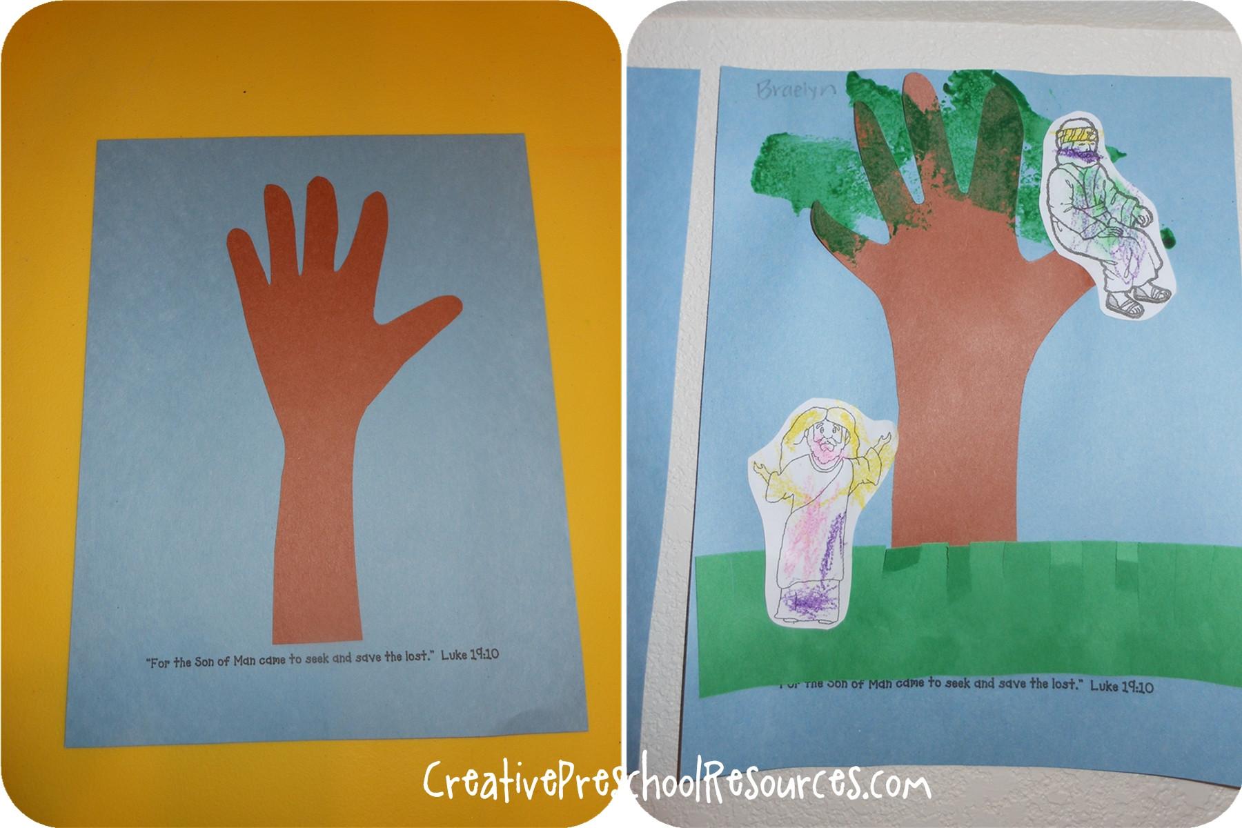 Bible Craft For Preschoolers  Bible Story