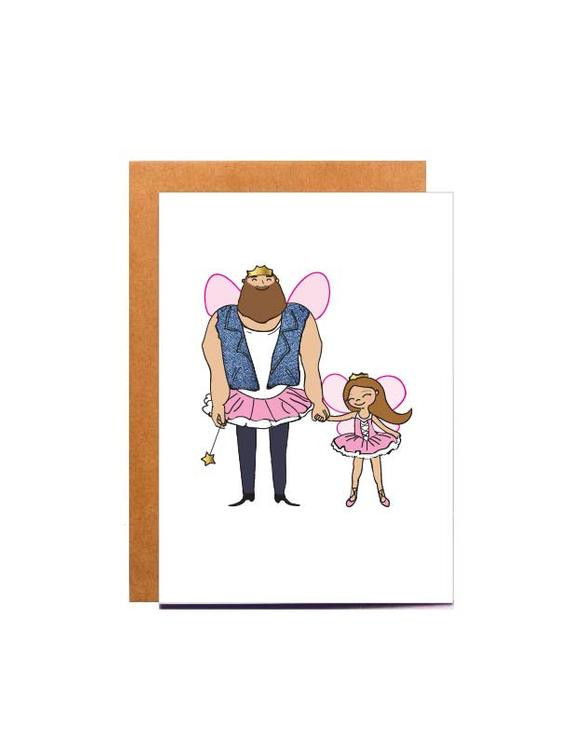 Birthday Card For Father From Daughter  dad birthday card father daughter card daddy by