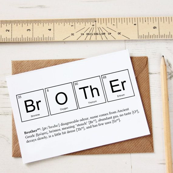 Birthday Card Ideas For Brother  25 best Brother ts ideas on Pinterest