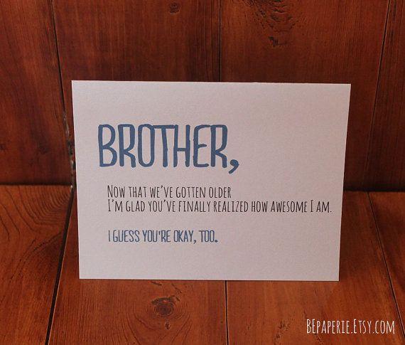 Birthday Card Ideas For Brother  Best 25 Birthday cards for brother ideas on Pinterest