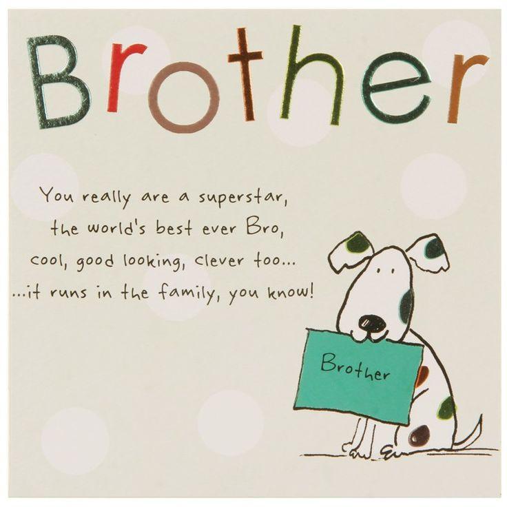 Birthday Card Ideas For Brother  17 Best ideas about Birthday Cards For Brother on
