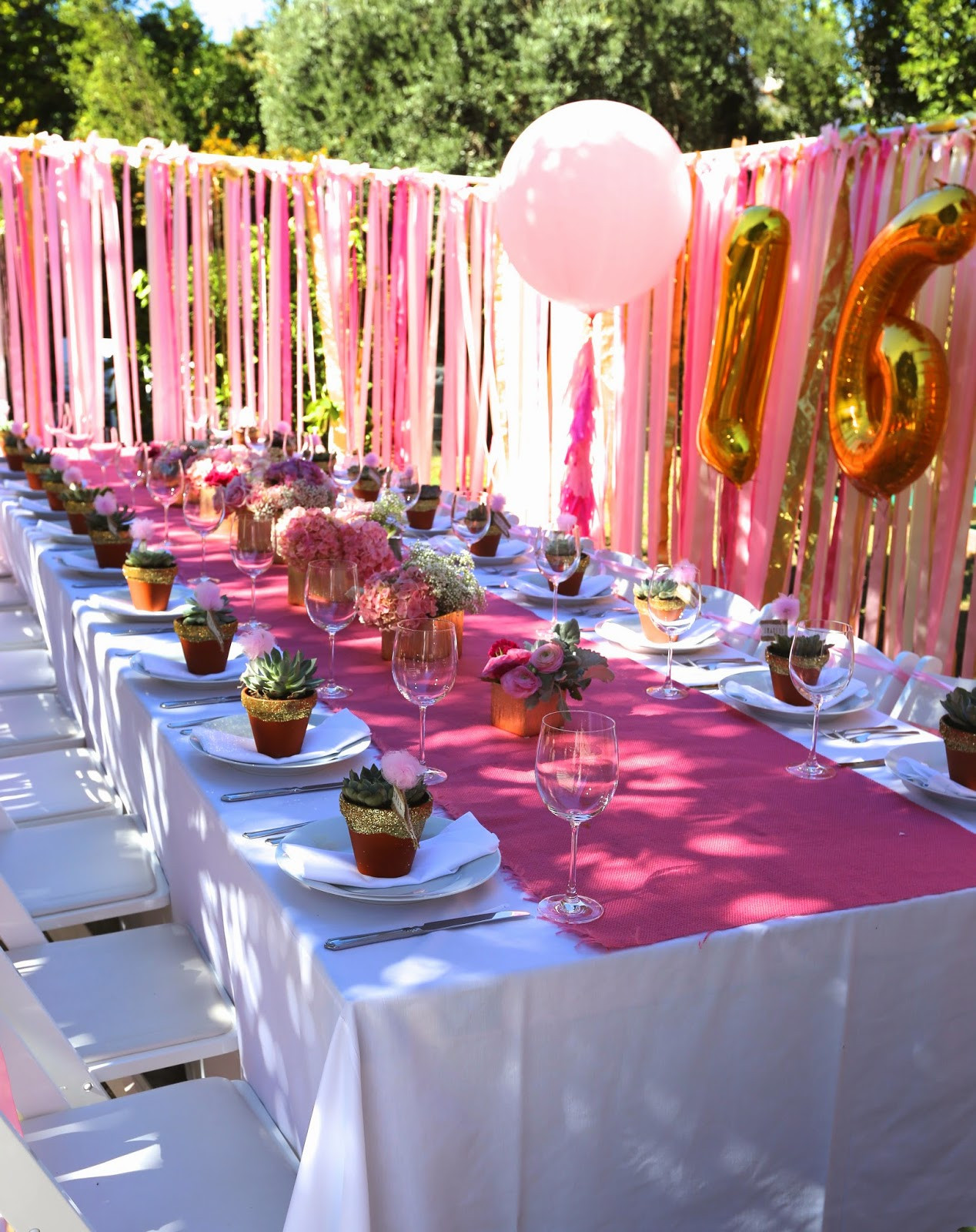 Birthday Decorations Ideas At Home  the COOP SWEET 16 Party at Home