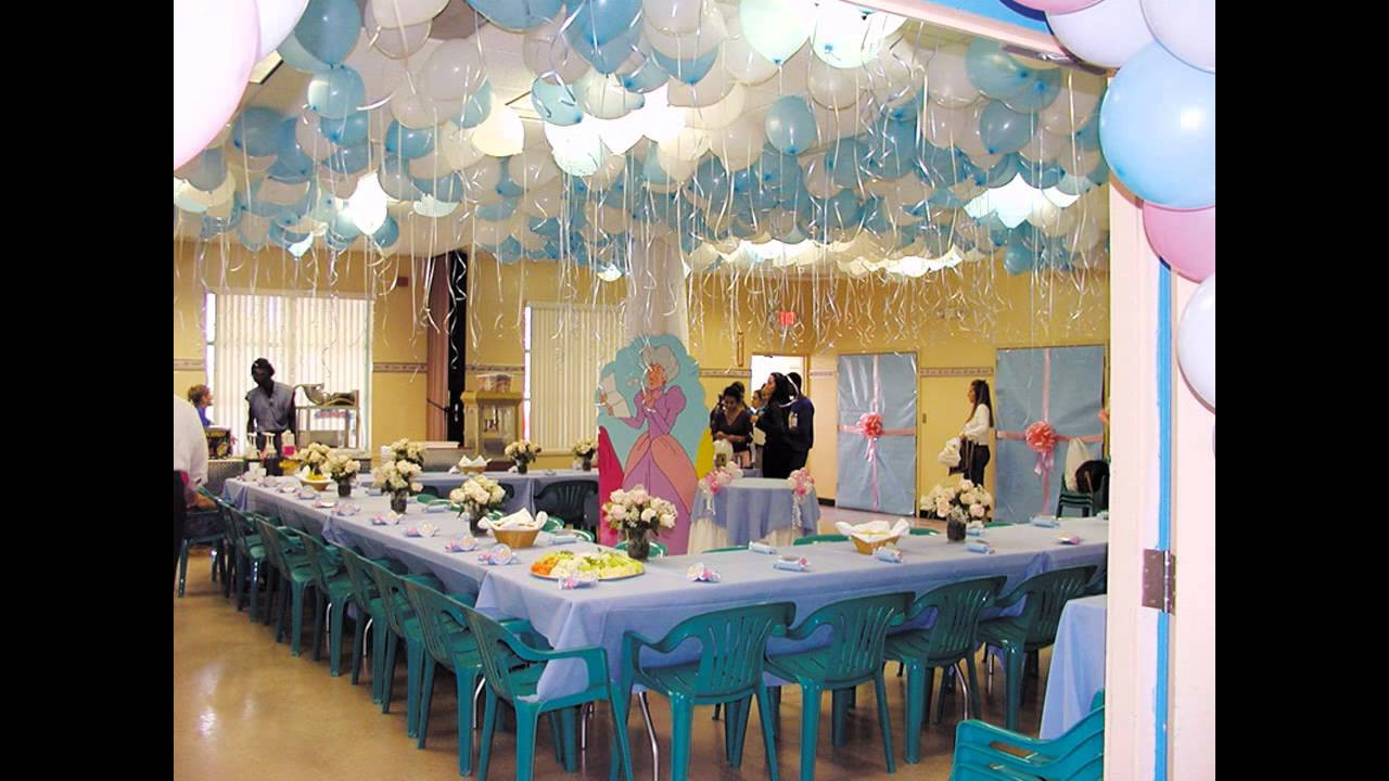 Birthday Decorations Ideas At Home  at home Birthday Party decorations for kids
