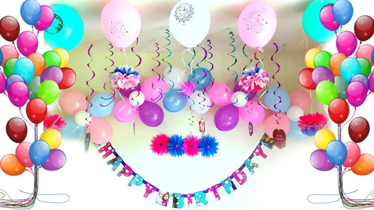 Birthday Decorations Ideas At Home  Party Decoration Ideas Birthday party decorations