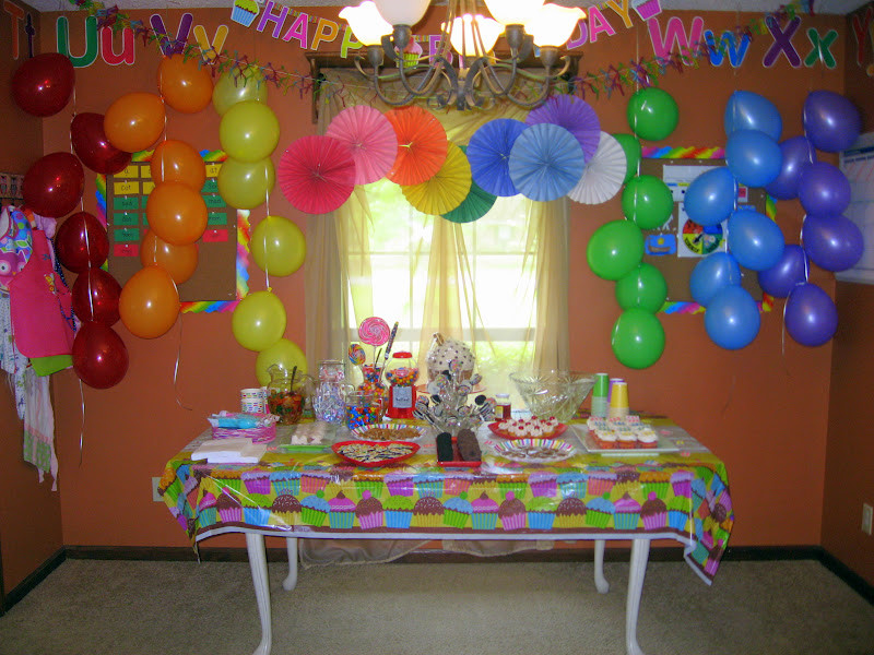 Birthday Decorations Ideas At Home  September 2012 The Virtuous Wife