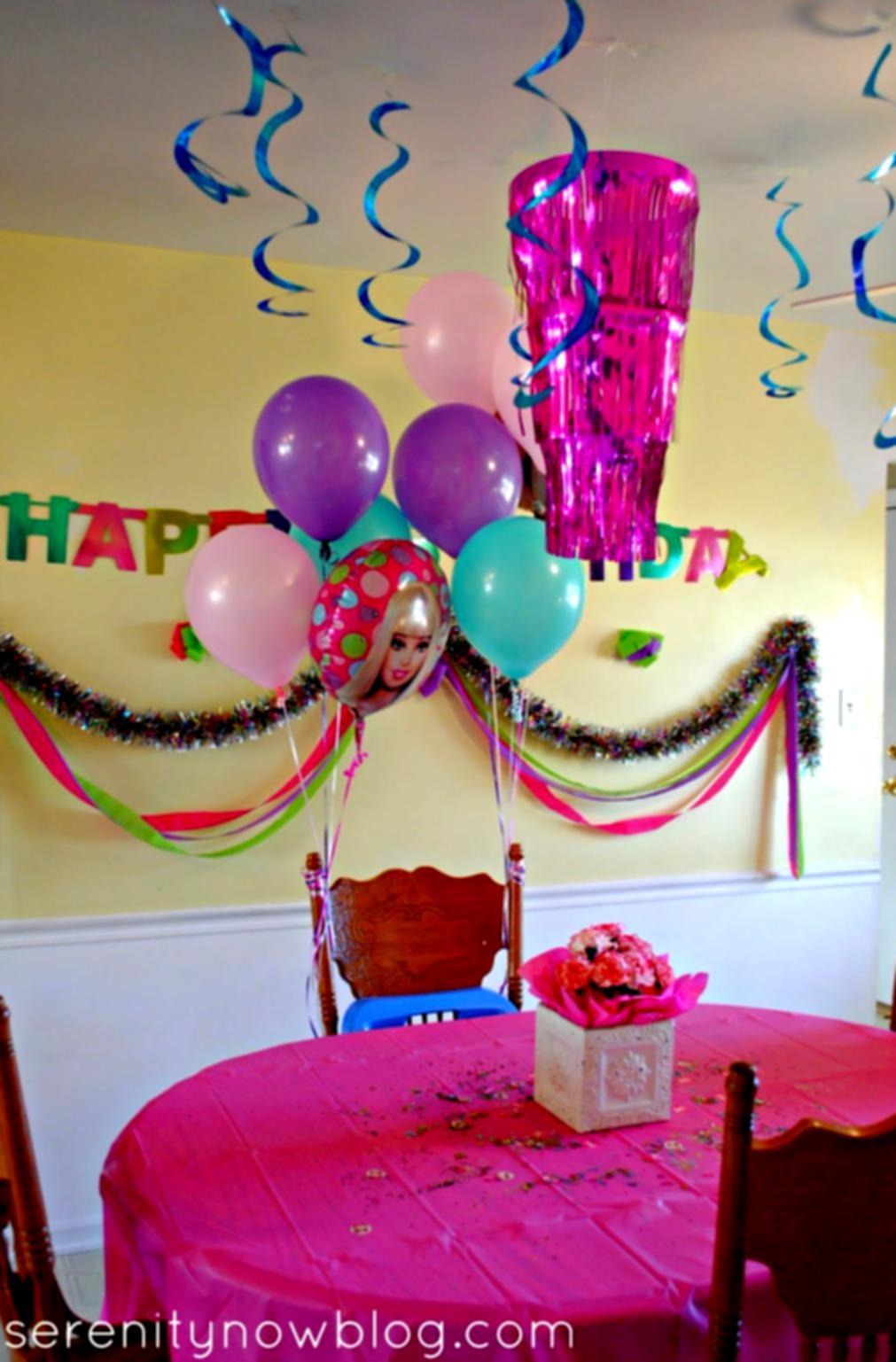 Birthday Decorations Ideas At Home  Birthday Party Decorations At Home Decoration Ideas For