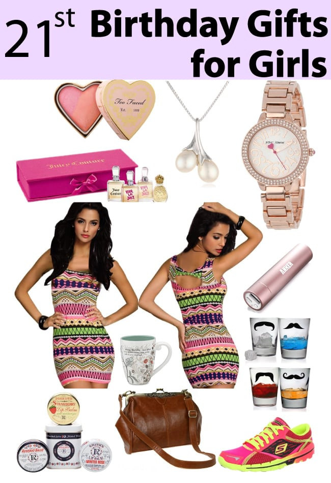 Birthday Gift Ideas For A Girlfriend  21st Birthday Gifts for Girls Vivid s