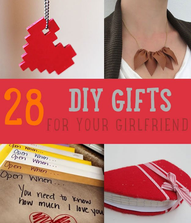 Birthday Gift Ideas For A Girlfriend  28 DIY Gifts For Your Girlfriend