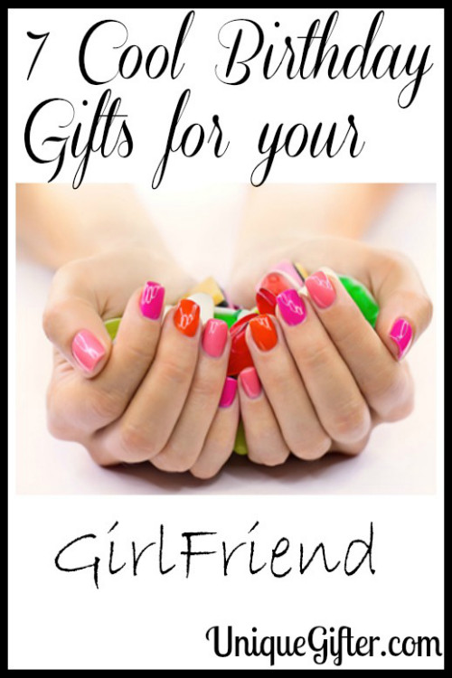 Birthday Gift Ideas For A Girlfriend  7 Cool Birthday Gifts for your GirlFriend Unique Gifter