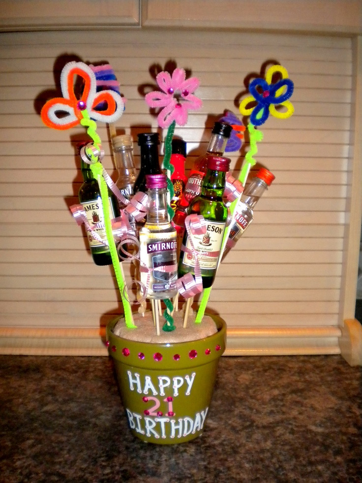 Birthday Gift Ideas For Daughter Turning 21  20 best images about 21st birthday party ideas on