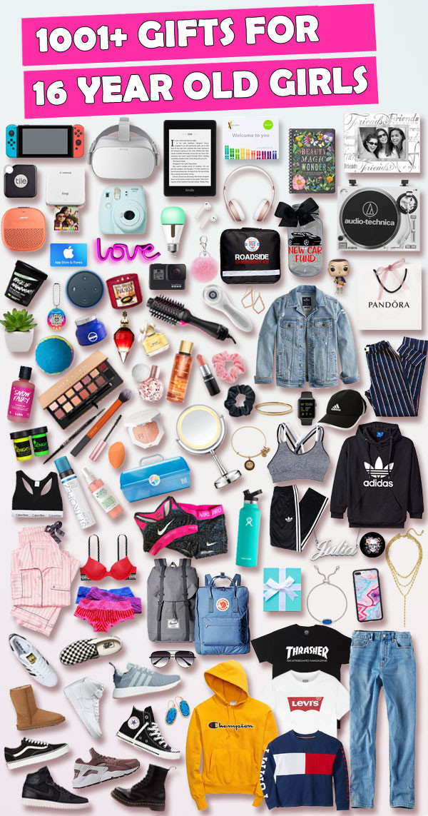 Birthday Gifts For A 16 Year Girl  Sweet 16 Gift Ideas For 16 Year Old Girls [AFFORDABLE]