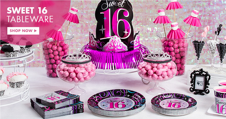 Birthday Gifts For A 16 Year Girl  16th Birthday Party Supplies Sweet 16 Party Ideas