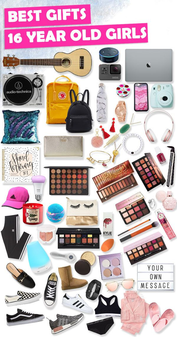 Birthday Gifts For A 16 Year Girl  Sweet 16 Gift Ideas For 16 Year Old Girls