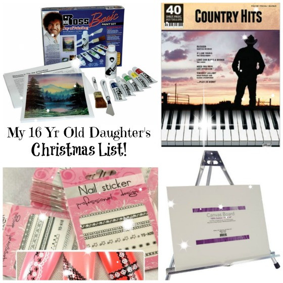 Birthday Gifts For A 16 Year Girl  This is my 15 Year Old Daughter s Christmas List