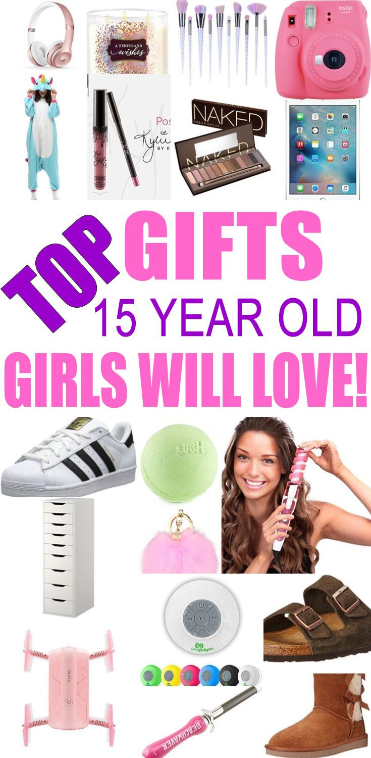 Birthday Gifts For A 16 Year Girl  Best Gifts for 15 Year Old Girls