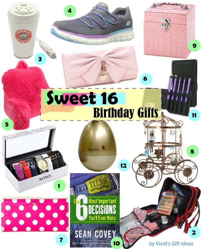Birthday Gifts For A 16 Year Girl  Gift Ideas for Girls Sweet 16 Birthday Vivid s