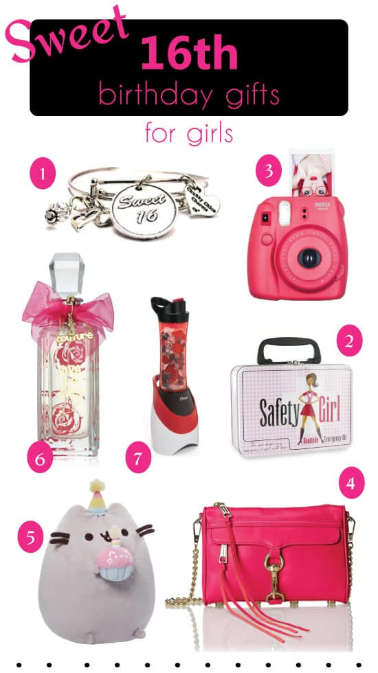 Birthday Gifts For A 16 Year Girl  8 Sweet 16 Birthday Gifts Cool Ideas for Teen Girls