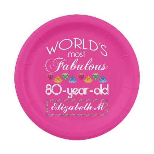 Birthday Party Ideas For 80 Year Old Woman  80th Birthday Party Ideas 80th Birthday Ideas