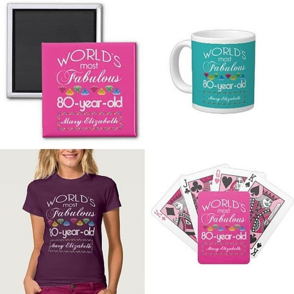 Birthday Party Ideas For 80 Year Old Woman  80th Birthday Gifts for Women 25 Best Gift Ideas for